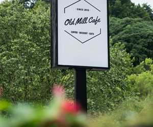 Old Mill Cafe Signage